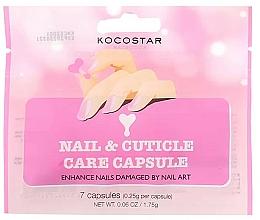Parfumuri și produse cosmetice Ser pentru unghii și cuticule - Kocostar Nail & Cuticle Care Capsule