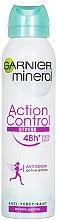 """Parfumuri și produse cosmetice Deodorant spray """"Protecție împotriva transpirației și a mirosului"""" - Garnier Mineral Deo Action Control"""
