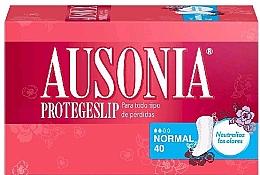 Parfumuri și produse cosmetice Absorbante de fiecare zi, 40 bucăți - Ausonia Protegeslip Normal