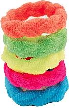 Parfumuri și produse cosmetice Set elastice de păr, 5 bucăți - IDC Institute Design Hair Bands Pack