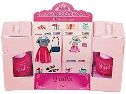 Parfumuri și produse cosmetice Set lacuri de unghii - Snails Me & Mini Me (nail/polish/7ml + nail/polish/9ml)