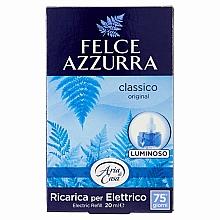 Parfumuri și produse cosmetice Difuzor aromatic, electric - Felce Azzurra Classico (rezervă)