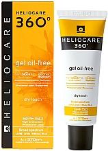 Parfumuri și produse cosmetice Gel pentru protecție solară - Cantabria Labs Heliocare 360 Gel Oil-Free Dry Touch