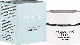 Parfumuri și produse cosmetice Cremă de noapte pentru față - Collagena Code Cells Recovery Night Cream