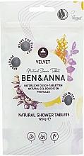 "Parfumuri și produse cosmetice Tablete de duș ""Velvet"" - Ben&Anna Natural Velvet Body Wash Tablets"