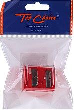 Parfumuri și produse cosmetice Ascuțitoare cu capac pentru creioane, 2182, roșie - Top Choice