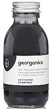 Parfumuri și produse cosmetice Agent de clătire pentru cavitatea bucală - Georganics Activated Charcoal Mouthwash