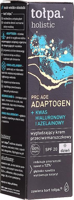 Cremă-mască de zi antirid - Tolpa Holistic Pro Age Adaptogen Cream-mask