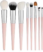 """Parfumuri și produse cosmetice Set pensule de machiaj """"Must Have. Pink"""", 8 buc. - Colordance"""