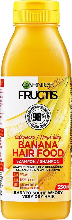 "Șampon ""Banană"" pentru păr uscat - Garnier Fructis Superfood"