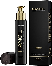 Parfumuri și produse cosmetice Ulei pentru păr cu porozitate medie - Nanoil Hair Oil Medium Porosity