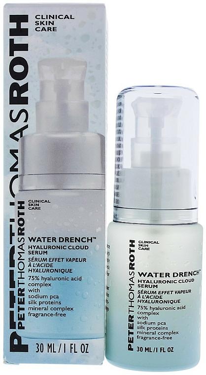 Ser hidratant cu acid hialuronic - Peter Thomas Roth Water Drench Hyaluronic Cloud Serum — Imagine N2