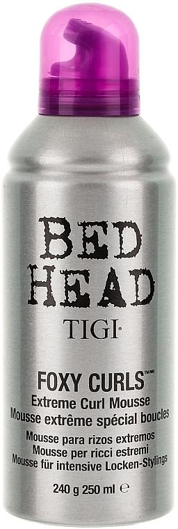 Spumă pentru păr ondulat - Tigi Bed Head Foxy Curls Extreme Curl Mousse — Imagine N1