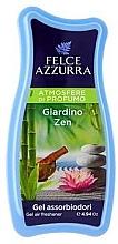 Parfumuri și produse cosmetice Odorizant de aer - Felce Azzurra Gel Air Freshener Giardino Zen