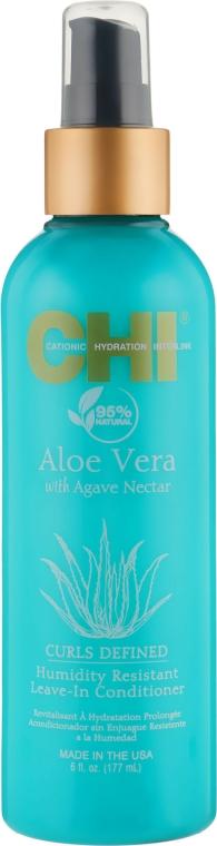 Balsam fără clătire pentru protejarea părului de umiditate - CHI Aloe Vera Humidity Resistant Leave-In Conditioner — Imagine N1