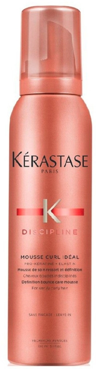 Mousse pentru părul rebel și creț - Kerastase Discipline Curl Ideal Mousse — Imagine N1