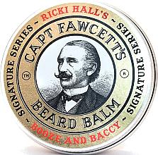 Parfumuri și produse cosmetice Balsam pentru barbă - Captain Fawcett Ricki Hall Booze & Baccy Beard Balm