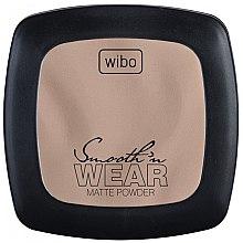 Parfumuri și produse cosmetice Pudră compactă matifiantă - Wibo Smooth'n Wear Matte Powder