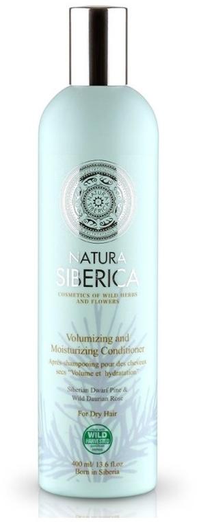 """Balsam pentru părul uscat """"Volum și hidratare"""" - Natura Siberica — Imagine N1"""
