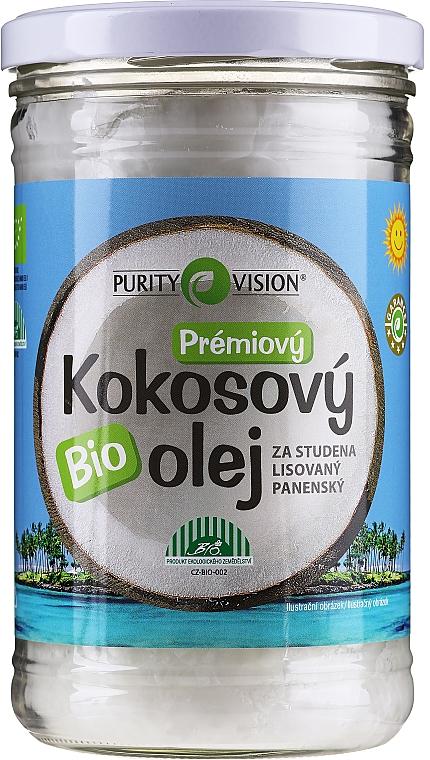 Ulei de nucă de cocos presat la rece pentru păr - Purity Vision Bio Virgin Cold Pressed Coconut Oil