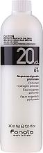 Parfumuri și produse cosmetice Emulsie oxidantă - Fanola Acqua Ossigenata Perfumed Hydrogen Peroxide Hair Oxidant 20vol 6%