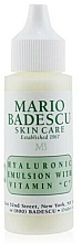 Parfumuri și produse cosmetice Ser facial - Mario Badescu Hyaluronic Emulsion With Vitamin C