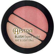Parfumuri și produse cosmetice Fard de obraz - Astra Make-up Blush Expert Sculpt