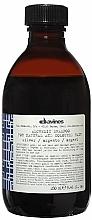 Parfumuri și produse cosmetice Șampon pentru păr natural și vopsit (argintiu) - Davines Alchemic Shampoo