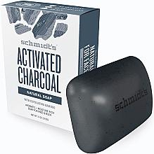 Parfumuri și produse cosmetice Săpun - Schmidt's Naturals Bar Soap Activated Charcoal