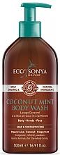 Parfumuri și produse cosmetice Gel de duș cu nucă de cocos și mentă - Eco by Sonya Coconut Mint Body Wash