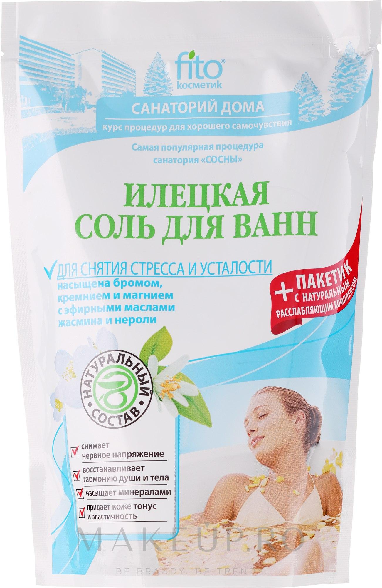 Sare de baie pentru ameliorarea stresului și oboselii - FitoKosmetik — Imagine 530 g