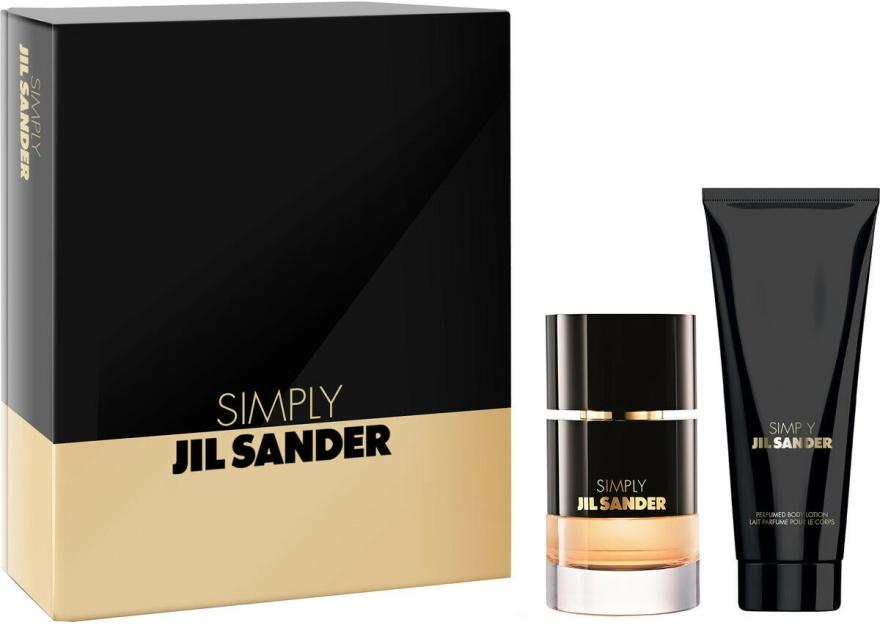 Jil Sander Simply Jil Sander - Set (Edp/40ml + b/lot/75ml) — Imagine N1