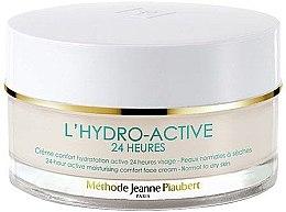 Parfumuri și produse cosmetice Cremă hidratantă - Methode Jeanne Piaubert L'Hydro-Active 24H 24-hour Active Moisturising Comfort Face Cream Normal to Dry Skin
