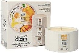 Parfumuri și produse cosmetice Lumânare aromată - House of Glam Mango Delight Candle