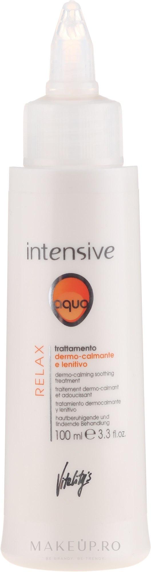 Soluție calmantă și de înlăturare a iritațiilor - Vitality's Intensive Aqua Relax Dermo-Calming — Imagine 100 ml