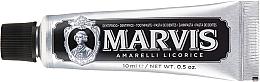 Parfumuri și produse cosmetice Pastă de dinți - Marvis Dentif Amarelli Licorice (mini)