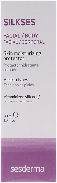 Cremă hidratantă - SesDerma Laboratories Silkses Skin Moisturizing Cream — Imagine N2