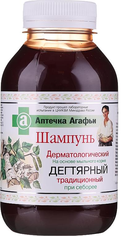 Șampon cu gudron - Reţete bunicii Agafia