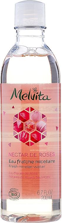 Apă micelară revigorantă - Melvita Nectar De Rose Fresh Micellar Water