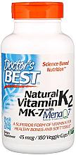 Parfumuri și produse cosmetice Vitamina K2 MK-7 cu MenaQ7, 100 mcg, capsule - Doctor's Best