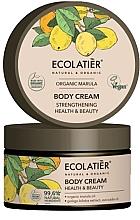 Parfumuri și produse cosmetice Cremă de corp pentru fermitatea pielii - Ecolatier Organic Marula Body Cream