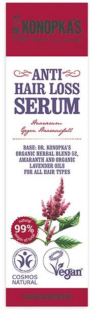 Ser împotriva căderii părului - Dr. Konopka's Anti Hair-Loss Serum — Imagine N2