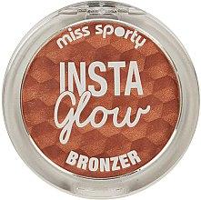 Parfumuri și produse cosmetice Pudră bronzantă - Miss Sporty Insta Glow Bronzer