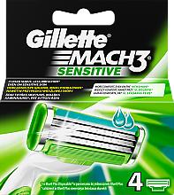 Casete de rezervă pentru aparat de ras - Gillette Mach3 Sensitive — Imagine N3