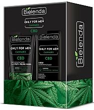 Parfumuri și produse cosmetice Set - Bielenda Only For Men Cannabis (cr/50ml + paste/150g)