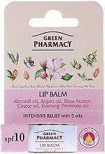 Parfumuri și produse cosmetice Balsam de buze cu 5 uleiuri - Green Pharmacy Lip Balm With 5 Oils SPF 10