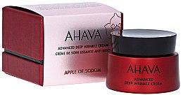 Parfumuri și produse cosmetice Cremă împotriva ridurilor adânci - Ahava Apple Of Sodom Advanced Deep Wrinkle Cream