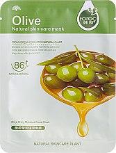 """Parfumuri și produse cosmetice Mască de țesut pentru față """"Oliva"""" - Rorec Natural Skin Olive Mask"""