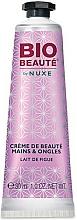 """Parfumuri și produse cosmetice Cremă pentru mâini și unghii """"Lapte de smochine"""" - Nuxe Bio Beauty Hands and Nails Cream Fig Milk"""