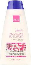 """Parfumuri și produse cosmetice Soluție pentru îndepărtarea ojei """"Lanolină și acizi de fructe"""" - Pharma Missy"""